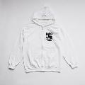 少年イン・ザ・フッド × WEARTHEMUSIC Zip Hoodie (White)Mサイズ