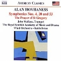 Hovhaness: Symphony No.4, Return and Rebuild The Desolate Places, etc