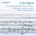 C.P.E.Bach: Keyboard Concertos Vol.17 / Miklos Spanyi, Petri Tapio Mattson, Opus X