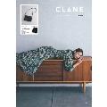 CLANE 3ROOM SHOULDER BAG BOOK BLACK
