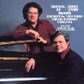 ブラームス:ピアノ協奏曲第1番・歌曲集