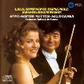ラロ:スペイン交響曲 サラサーテ:ツィゴイネルワイゼン