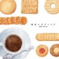 鎌倉のカフェから コーヒー&ビスケッツ