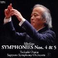 シベリウス:交響曲第4番・第5番