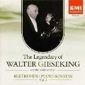 ベートーヴェン:ピアノ・ソナタ集Vol.1《SPレコードに聴くワルター・ギーゼキングの遺産Vol.7》