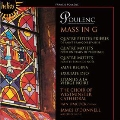 Poulenc: Mass in G, Motets, etc