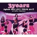 "Apink 3rd LIVE TOUR 2017 ""3years"" at Pacifico Yokohama [Blu-ray Disc+A2ポスター]"
