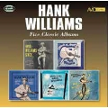 Five Classic Albums -Hank Williams Sings / Moanin'The Blues / Memorial Albums / Honky Tonkin'