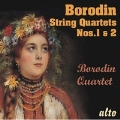 ボロディン: 弦楽四重奏曲第1番, 第2番