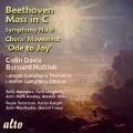 ベートーヴェン: ミサ ハ長調, 交響曲第9番 ニ短調「合唱」第4楽章「歓喜の歌」