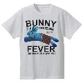 TOWER RECORDS × MADBUNNY NO FUJIROCK, NO LIFE! T-shirt ブルー Lサイズ
