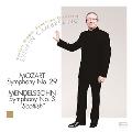 "Mozart: Symphony No.29; Mendelssohn: Symphony No.3 ""Scottish"""