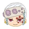 鬼滅の刃 プチっとバッジVol.2 7/宇髄天元