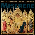 Miserere - A Sequence of Music for Lent, St Joseph, and the Annunciation