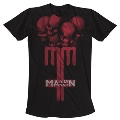 MARILYN MANSON/SKULL CROSS T-SHIRT XLサイズ