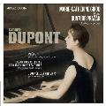 ガブリエル・デュポン: ピアノ組曲『療養の時』より、ピアノと弦楽四重奏のための『詩曲』、他