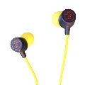 TOWER RECORDS ダイナミック型インナーイヤーヘッドホン Yellow