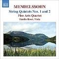 Mendelssohn: Complete String Quintets No.1 & 2 / Danilo Rossi(va), Fine Arts Quartet, etc
