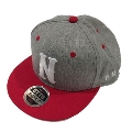 NMNL CAP Red×Heather Gray