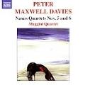 """MAXWELL-DAVIES:NAXOS QUARTET NO.5""""LIGHTHOUSES OF ORKNEY AND SHETLAND""""/NAXOS QUARTET NO.6:MAGGINI QUARTET"""