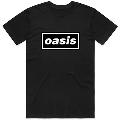 OASIS / DECCA LOGO BLACK T SHIRT Lサイズ