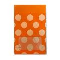 タワレコ 推し色ラッピング袋 Orange(水玉)