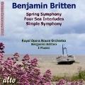 Britten: Spring Symphony, Four Sea Interludes, Simple Symphony
