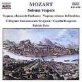 Mozart: Solemn Vespers / Peire, Capella Brugensis, et al