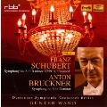 シューベルト: 交響曲第8番 D.759「未完成」、ブルックナー: 交響曲第9番 (原典版)