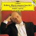 ブラームス:ピアノ・ソナタ第1番・第2番 左手のためのシャコンヌ