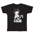 PEANUTS COMIC STYLE×ブリット・ポップ・スター T-shirt LIAM Black/Sサイズ