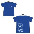 おそ松さん × TOWER RECORDS T-shirt カラ松 ブルー Mサイズ