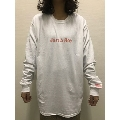 LONGMAN × WEARTHEMUSIC L/S T-Shirt(ホワイト)Lサイズ
