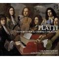 プラッティ: 鍵盤楽器のための三つの協奏曲, オーボエ・ソナタ, 鍵盤ソナタ