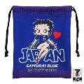 BETTY BOOP 巾着 サッカー日本代表ver.