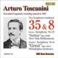 モーツァルト: 交響曲第35番「ハフナー」; シューベルト: 交響曲第8番「グレート」