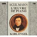 シューマン: ピアノ曲全集 (フランス Valois Label) [XRCD]