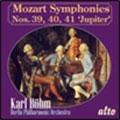 "Mozart: Symphony No.39, No.40, No.41 ""Jupiter"""
