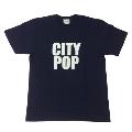 ジャンルTシャツ CITYPOP ネイビー XLサイズ