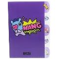 BT21 5インデックス クリアファイル/MANG