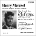 サン=サーンス: ヴァイオリン協奏曲第3番; ラロ: スペイン交響曲