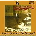 Arturo Benedetti Michelangeli - Chopin Recital (1967 Prato)