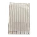 タワレコ 推し色ラッピング袋 White(ストライプ)