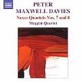 """P.M.Davies: Naxos Quartet No.7 """"Metafore sul Borromini""""/No.8 :Maggini Quartet"""