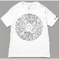 131 □□□ NO MUSIC, NO LIFE. T-shirt (グリーン電力証書付) White/Sサイズ