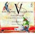 キアラ・バンキーニ/G.ヴァレンティーニ: 四つのヴァイオリンを伴う合奏協奏曲集 Op.7 [ZZT020801]