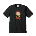 ペコちゃん × TOWER RECORDS T-shirt Black Sサイズ
