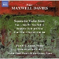 P.Maxwell-Davies: Sonata for Violin Alone, Dances from The Two Fiddlers, etc
