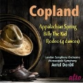 A.Copland: Appalachian Spring, Billy the Kid, Rodeo - 4 Dance Episodes