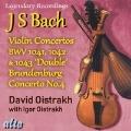 J.S.バッハ: ヴァイオリン、弦楽と通奏低音のための協奏曲第1番 イ短調 BWV 1041/ヴァイオリン、弦楽と通奏低音のための協奏曲第2番 ホ⻑調 BWV 1042/2つのヴァイオリン、弦楽と通奏低音のための協奏曲 ニ短調 BWV 1043/ブランデンブルク協奏曲第4番 ト⻑調 BWV 1049